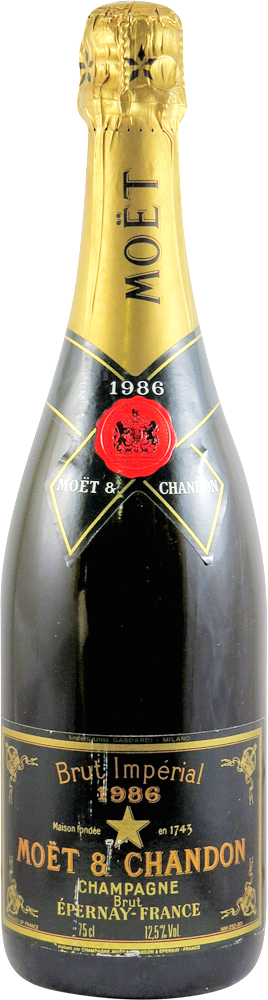 Moet Chandon - Brut Imperial Champagne 1986