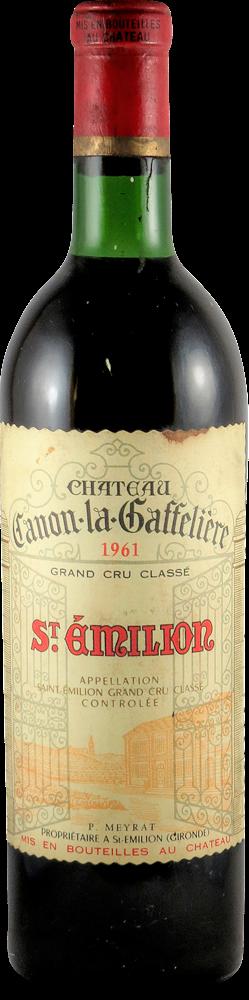 Chateau Canon la Gaffeliere Bordeaux - Saint Emilion 1961