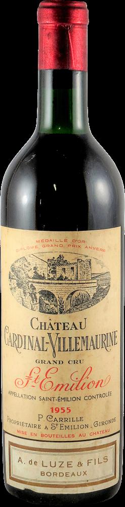 Chateau Cardinal - Villemarine Bordeaux - Saint Emilion 1955