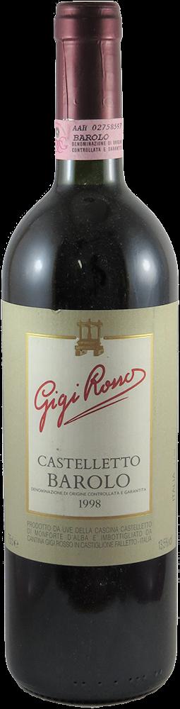 Gigi Rosso - Castelletto Barolo 1998