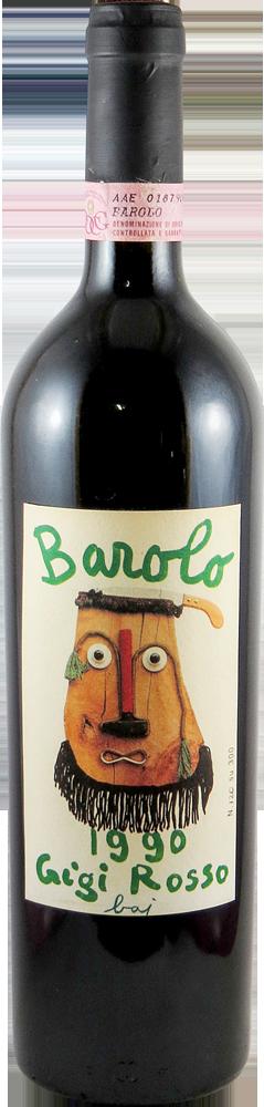 Gigi Rosso - Riserva - Sori del Ullivo Barolo 1990
