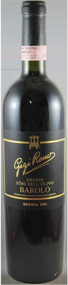 Gigi Rosso - Riserva - Airone - Sori dell'Ullivo Barolo 1996