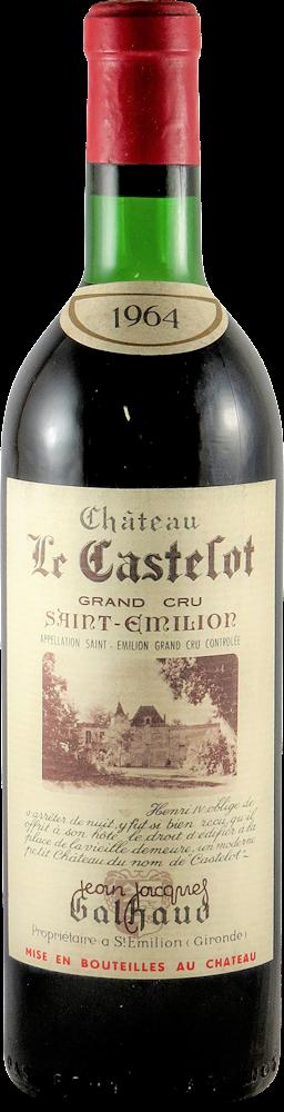 Chateau Le Castelot Bordeaux - Saint Emilion 1964