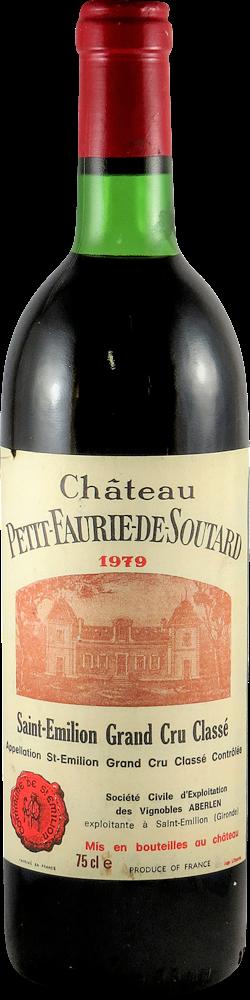 Chateau Petit-Faurie-de-Soutard Bordeaux - Saint Emilion 1979