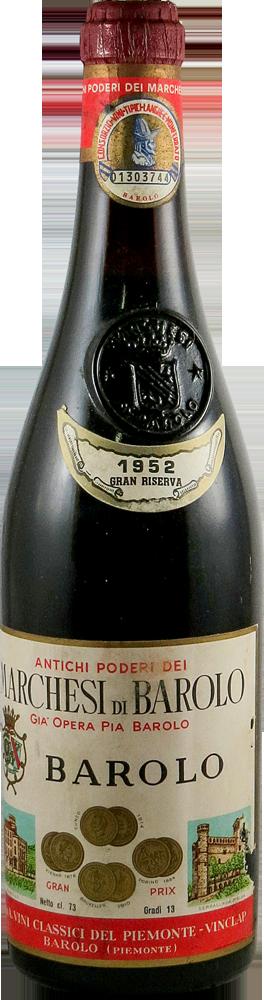 Marchesi di Barolo - Grand Riserva Barolo 1952