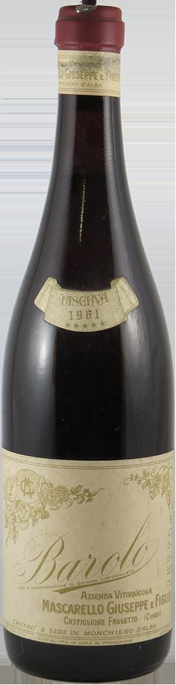 Mascarello Giuseppe - Riserva Barolo 1961