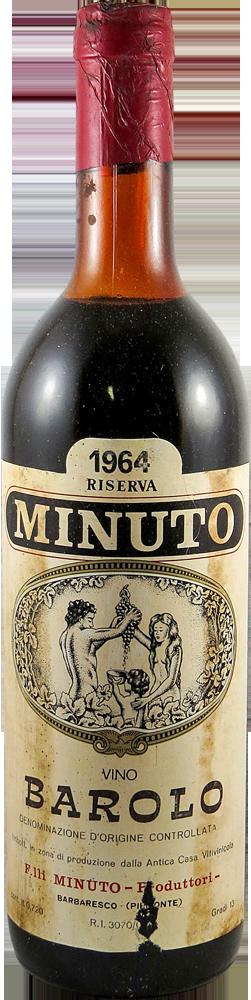 Minuto F.lli - Riserva Barolo 1964