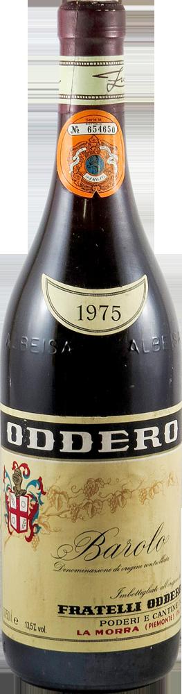 Oddero Barolo 1975