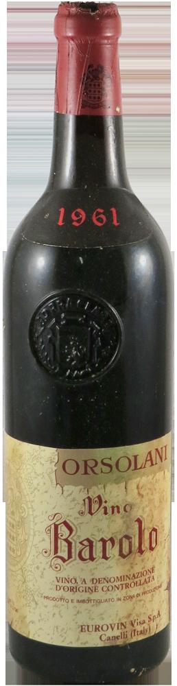 Orsolani Barolo 1961