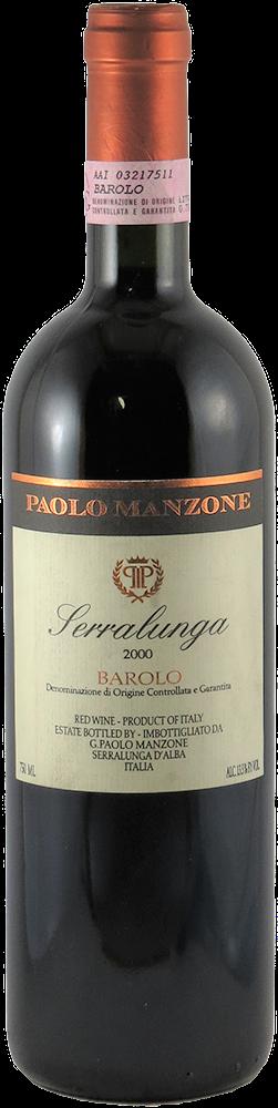 Paolo Manzone - Serralunga Barolo 2000