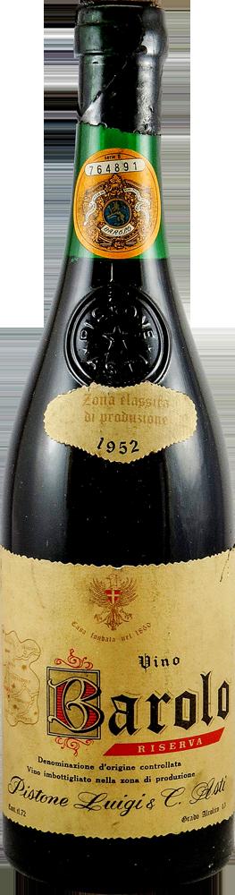 Pistone Luigi - Riserva Barolo 1952