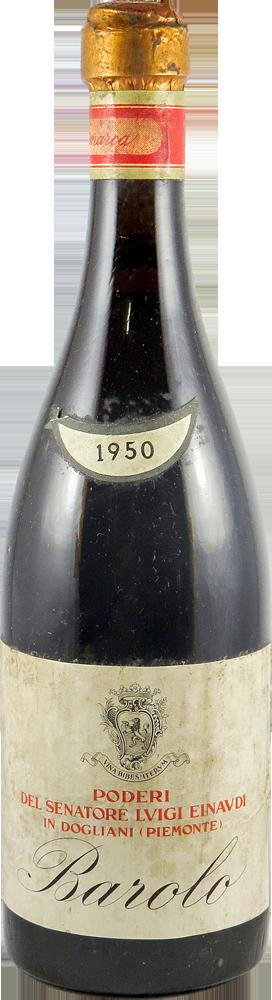 Podere Del Senatore Luigi Einaudi Barolo 1950