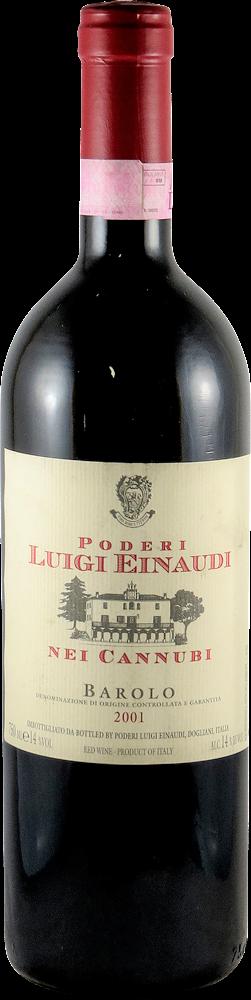 Poderi di Luigi Einaudi - Nei Cannubi Barolo 2001