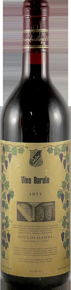 Schiavenza - Giulio Gabri Barolo 1971