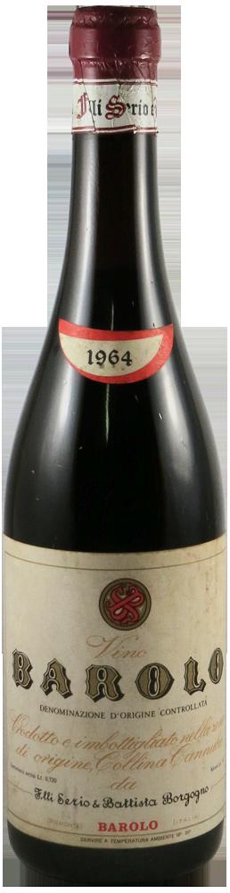 Serio & Battista Borgogno Barolo 1964