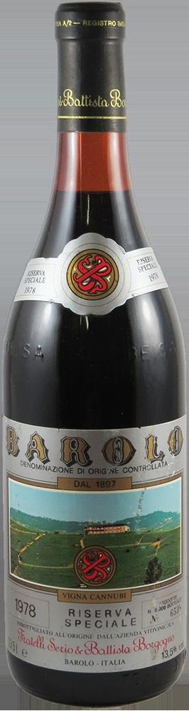 Serio & Battista Borgogno - Riserva Speciale Barolo 1978