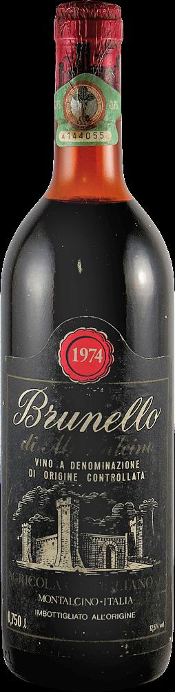Camigliano Brunello di Montalcino 1974