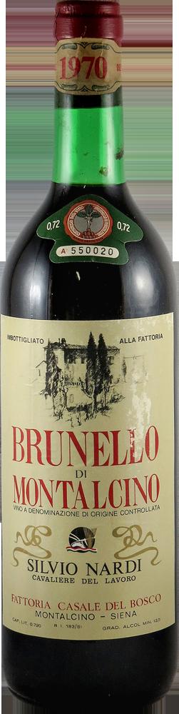 Nardi Silvio Brunello di Montalcino 1970