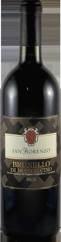 San Fiorenzo Brunello di Montalcino 2005