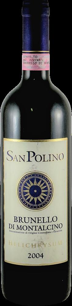 San Polino - Melichrysum Brunello di Montalcino 2004