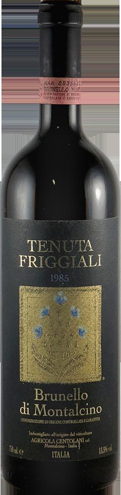 Tenuta Friggiali Brunello di Montalcino 1985