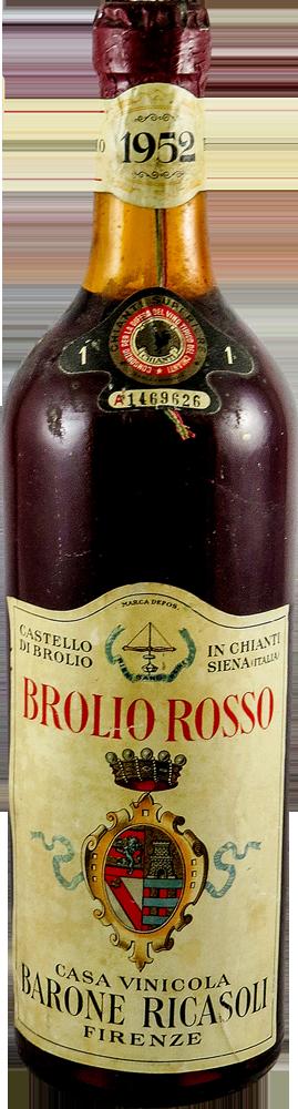 Barone Ricasoli - Brolio Rosso Chianti 1952
