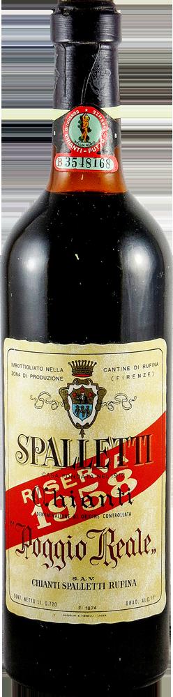 Poggio Reale - Spalletti - Riserva Chianti 1958