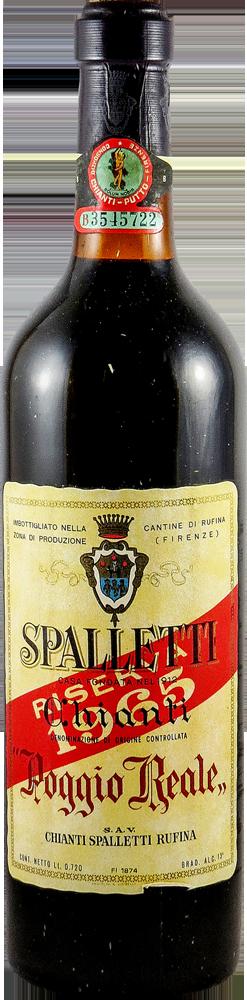 Poggio Reale - Spalletti - Riserva Chianti 1965