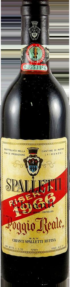 Poggio Reale – Spalletti – Riserva Chianti 1966
