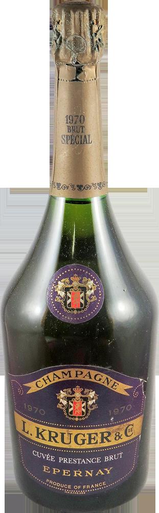 L. Kruger Champagne 1970