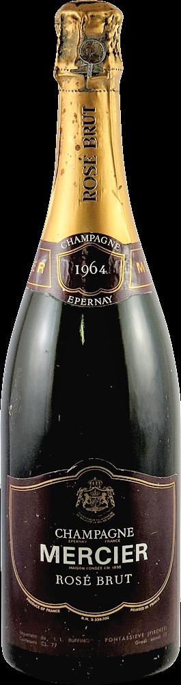 Mercier Ros� Champagne 1964