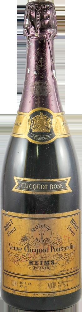 Veuve Cliquot Ponsardin - Ros� Champagne 1969