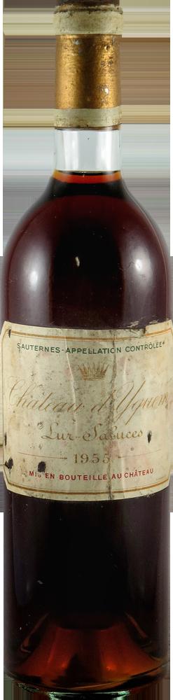 Chateau d' Yquem Sauternes 1955
