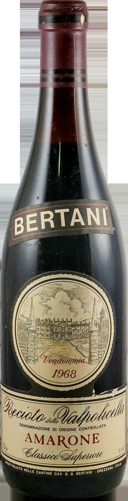 Bertani Amarone 1968