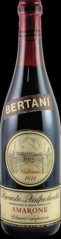 Bertani Amarone 1971