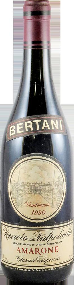 Bertani Amarone 1980