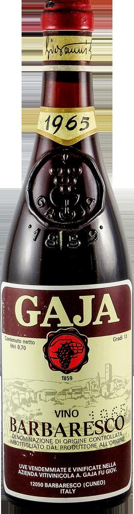 Gaja Barbaresco 1965