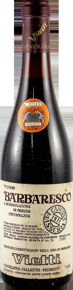 Vietti - Cascina Masseria Barbaresco 1971
