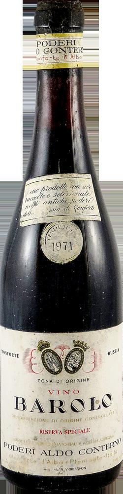 Aldo Conterno – Riserva Speciale Barolo 1971