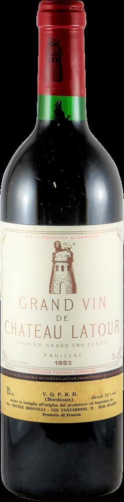 Chateau Latour Bordeaux - Pauillac 1983