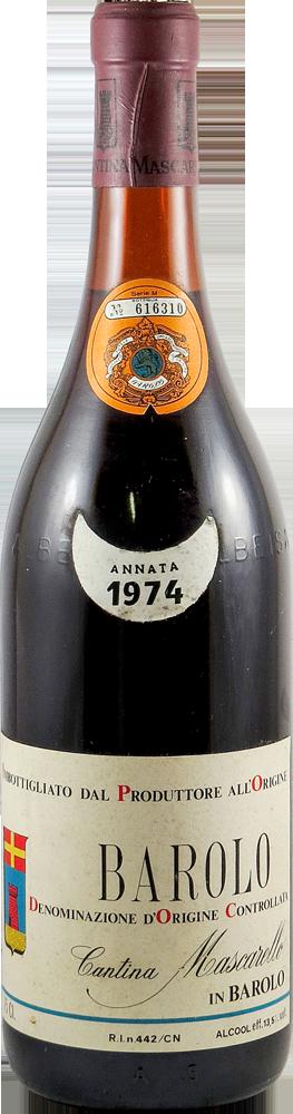 Cantina Mascarello Barolo 1974