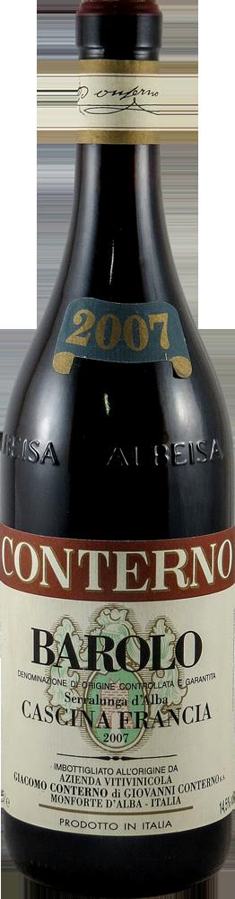 Giacomo Conterno - Cascina Francia Barolo 2007