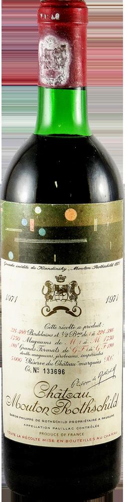 Chateau Mouton Rothschild Bordeaux - Pauillac 1971