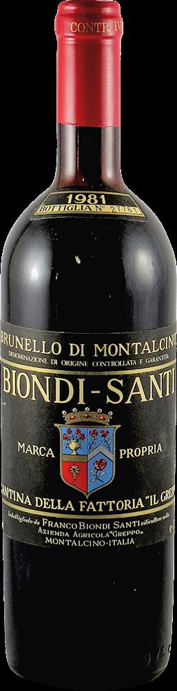 Biondi Santi - Annata Brunello di Montalcino 1981