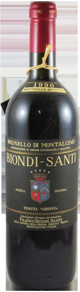 Biondi Santi - Annata Brunello di Montalcino 1990