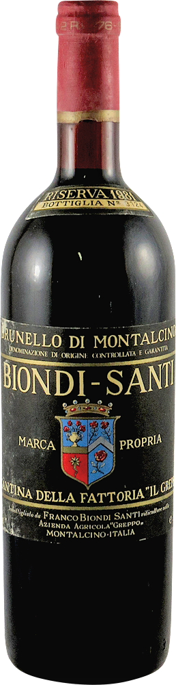 Biondi Santi - Riserva Brunello di Montalcino 1981