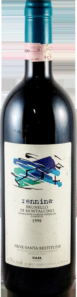 Gaja - Rennina Brunello di Montalcino 1998