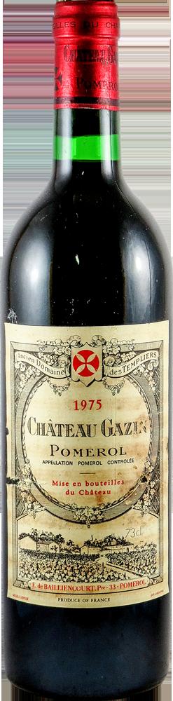 Chateau Gazin Bordeaux - Pomerol 1975