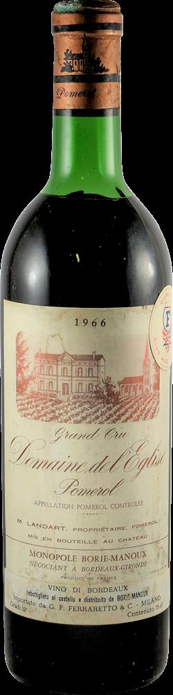 Domaine del Eglise Bordeaux - Pomerol 1966