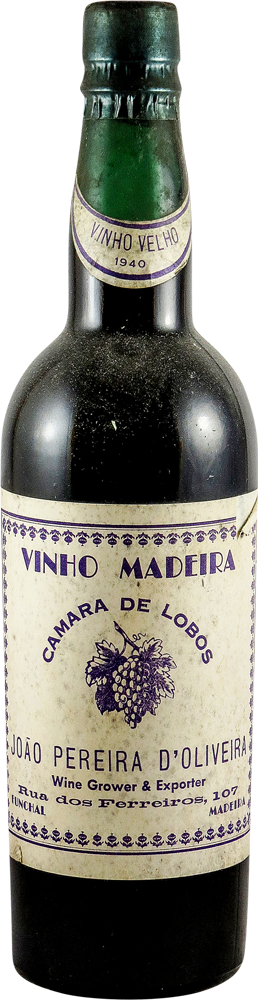 Pereira d' Oliveira Madeira 1940